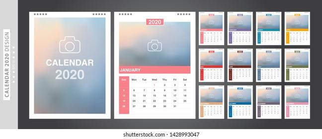 2019 Calendar Images, Stock Photos & Vectors | Shutterstock