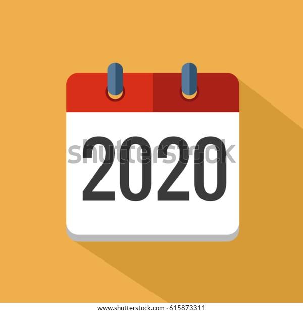 Calendrier 2020 Vectoriel Gratuit.Image Vectorielle De Stock De Calendrier 2020 Image