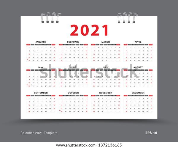 Image Vectorielle De Stock De Mise En Page Du Modele Calendrier 1372136165