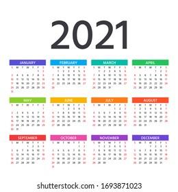 Pocket Calendar 2021 Images, Stock Photos & Vectors | Shutterstock