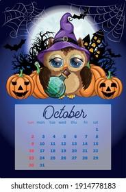 2022 Cow Calendar.Calendar 2022 Cute Cardboard Animals Every Stock Vector Royalty Free 1914778183