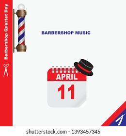 Calendar Event - Barbershop music Barbershop Quartet Day