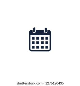 Calendar Event Schedule Icon Symbol Logo Template