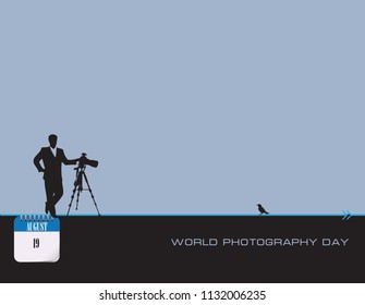 Calendar events of August - Congratulations for World Photography Day