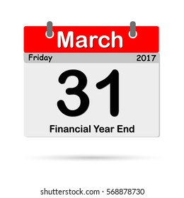 Calendar, the fiscal year end of March 31, 2017