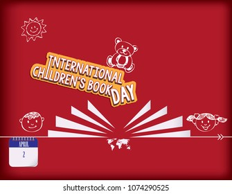 Calendar holiday of April - international children's book day