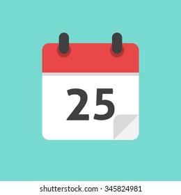 Calendar Icon Flat