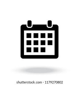 calendar icon vector,