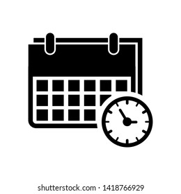 calendar icon vector design template