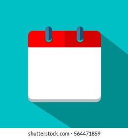 calendar icon Vector EPS 10 illustration.