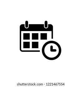 calendar icon vector eps10
