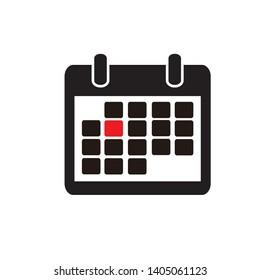 Calendar Icon Vector Flat Designs