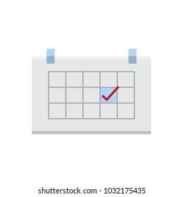 Calendar icon,Save appointments on a calendar.