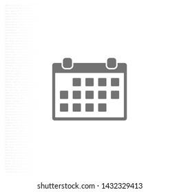 calendar iconVector icon . Lorem Ipsum Illustration design