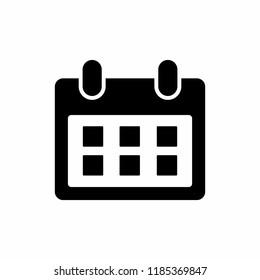 calendar line icon vector. Calender symbol.  symbol for web site Computer and mobile vector.