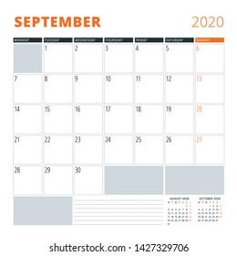 Calendario De Septiembre.Imagenes Fotos De Stock Y Vectores Sobre Calendario Septiembre