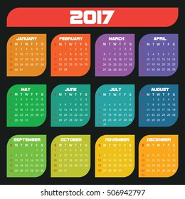 Calendar template for your business