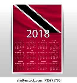 calendar of trinidad flag