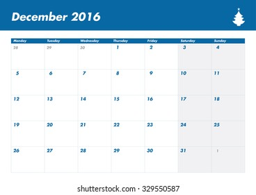 Calendar UK 2016