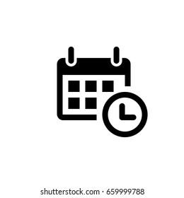 calendar - Vector icon  calendar Icon Vector / calendar icon /heart - calendar  icon