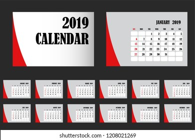 calendar years 2019 , weeks start from Sunday