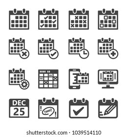 calendar,appointment,schedule icon set