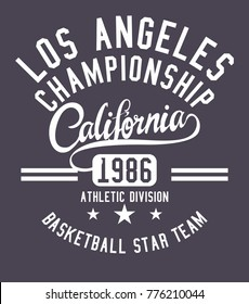 California Athletic Academy embroidery and printing graphic design vector art artwork