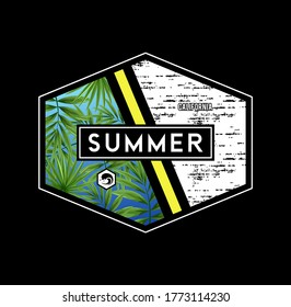 California beach,summer paradise tee element typography graphic t shirt print vector illustration design