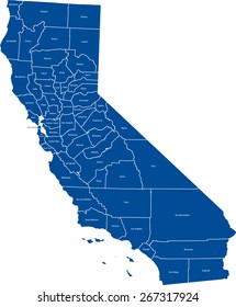 California Map Images, Stock Photos & Vectors | Shutterstock on