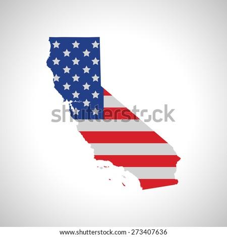 California Map Shutterstockcom.California Map Stock Vector Royalty Free 273407636 Shutterstock