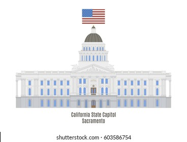 California State Capitol is home to the government of California, United States of America