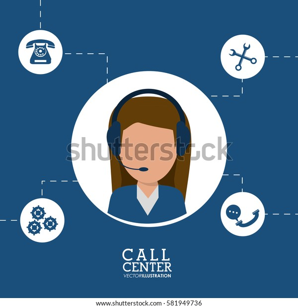 call center female agent line support