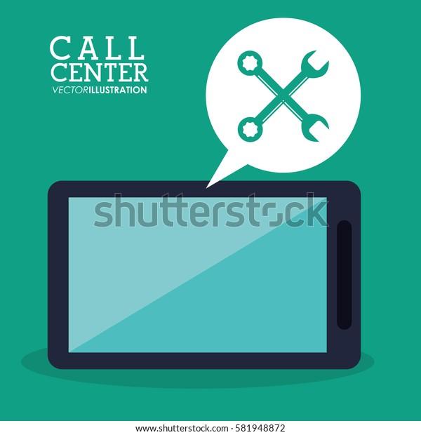 call center smartphone technical app