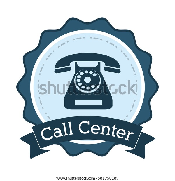call center telephone line support badge