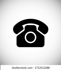 Call icon, Phone icon vector illustration EPS10