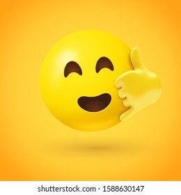 Call me emoji with smiling eyes open mouth and hand with thumb and little finger extended, making a traditional phone-like shape