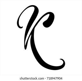K Calligraphy Images Stock Photos Vectors Shutterstock