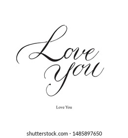 calligraphy, lettering, card, vector, copperplate, handwritten, phrase