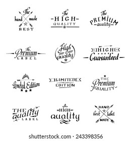 calligraphy and lettering. hand made drawn logos