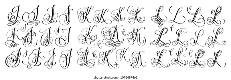 Cursive Letter L Images Stock Photos Vectors Shutterstock