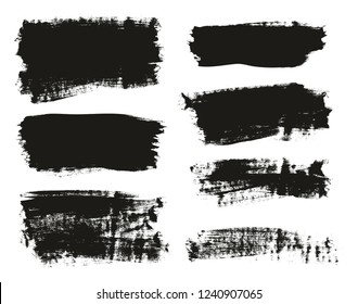 Calligraphy Paint Brush Background Mix High Detail Abstract Vector Background Set 19