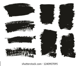 Calligraphy Paint Brush Background Mix High Detail Abstract Vector Background Set 29