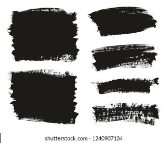 Calligraphy Paint Brush Background Mix High Detail Abstract Vector Background Set 45