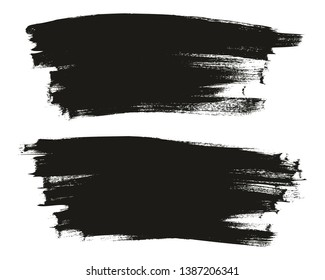 Calligraphy Paint Thin Brush Background Long High Detail Abstract Vector Background Set 53