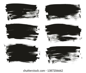 Calligraphy Paint Thin Brush Background Long High Detail Abstract Vector Background Set 102