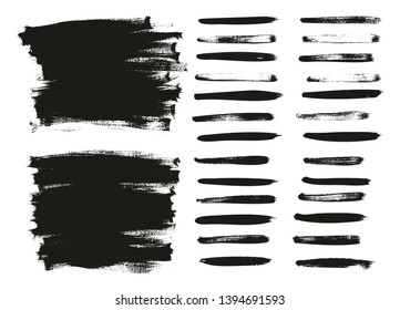 Calligraphy Paint Thin Brush Lines & Background High Detail Abstract Vector Background Set 11