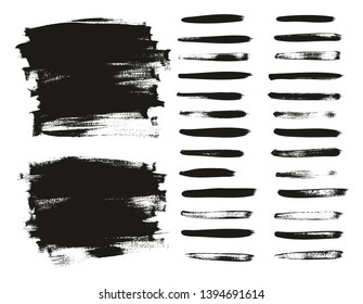 Calligraphy Paint Thin Brush Lines & Background High Detail Abstract Vector Background Set 12