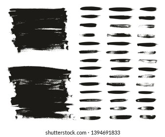 Calligraphy Paint Thin Brush Lines & Background High Detail Abstract Vector Background Set 90