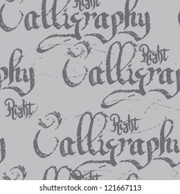 calligraphy vector wallpaper. vector vintage art