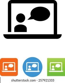 Calling app icon